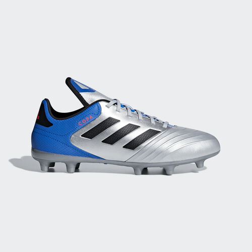 adidas - Copa 18.3 Firm Ground Boots Silver Met. / Core Black / Football Blue DB2463