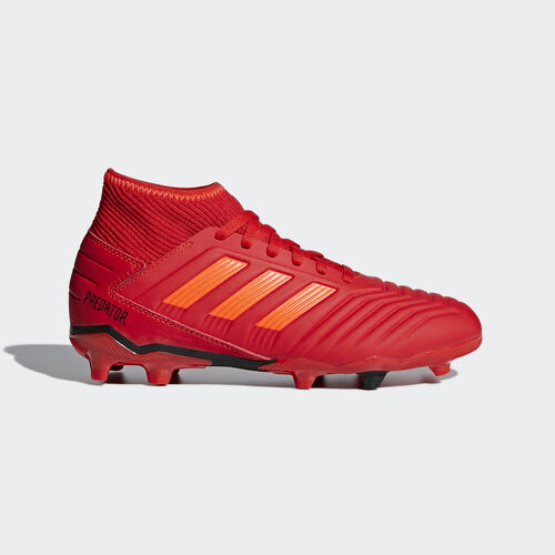 adidas - Predator 19.3 Firm Ground Boots Active Red / Solar Red / Core Black CM8534