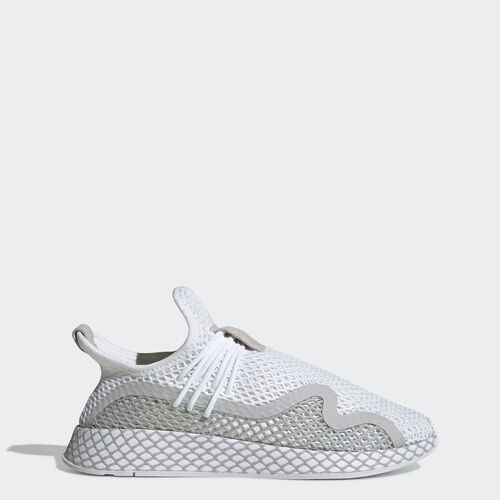 Deerupt S Runner Shoes, , zoom, (Ftwr White / Grey Two / Core Black), 31 March