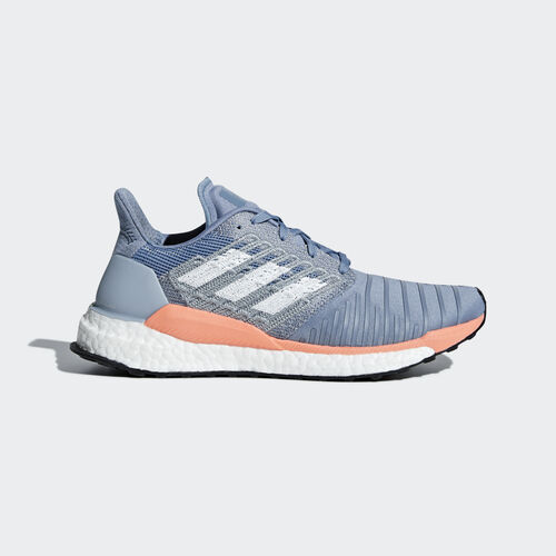 adidas - Solar Boost Shoes Raw Grey / Ftwr White / Chalk Coral BB6603