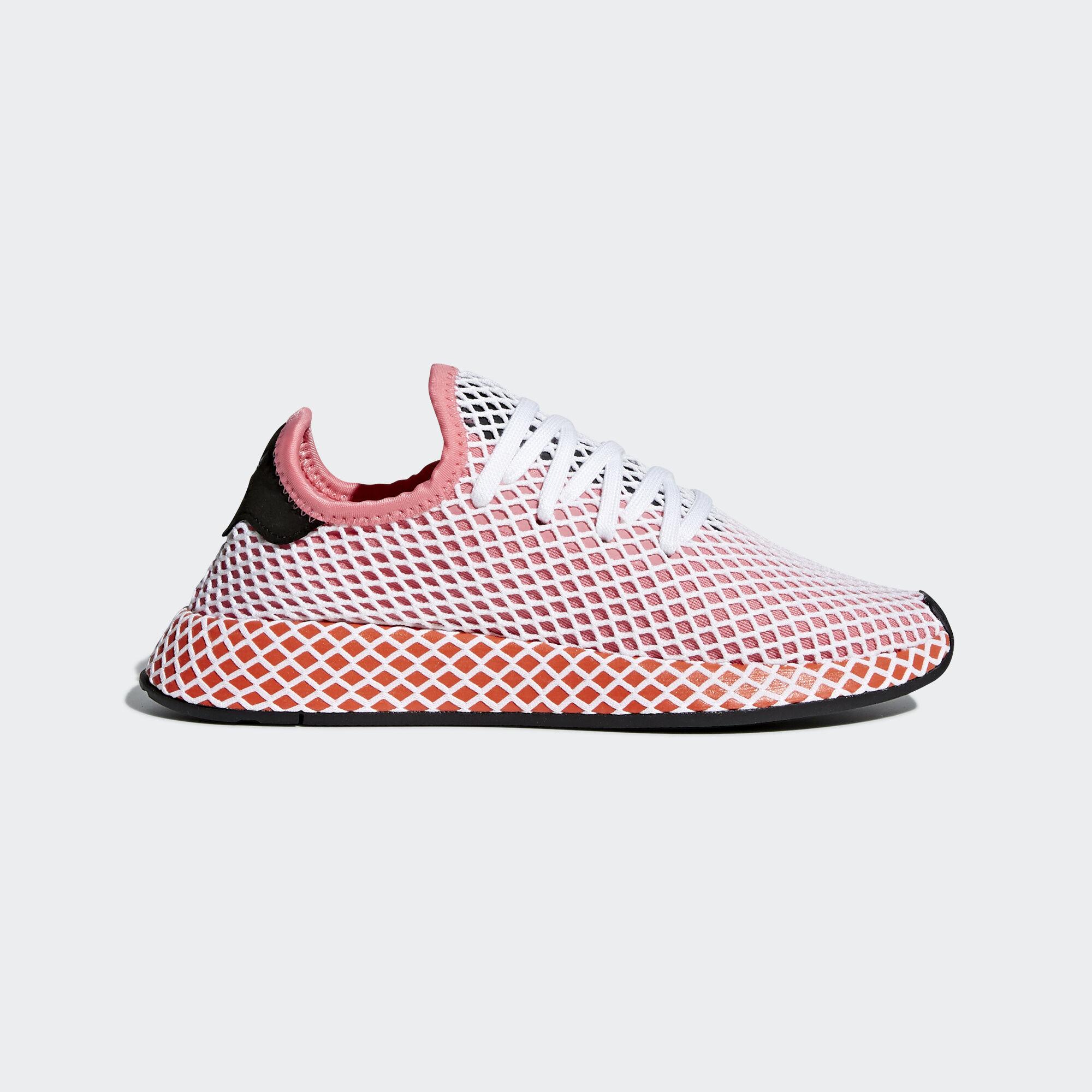 Adidas CQ2912 Women Runner Deerupt Running shoes blue black Sneakers