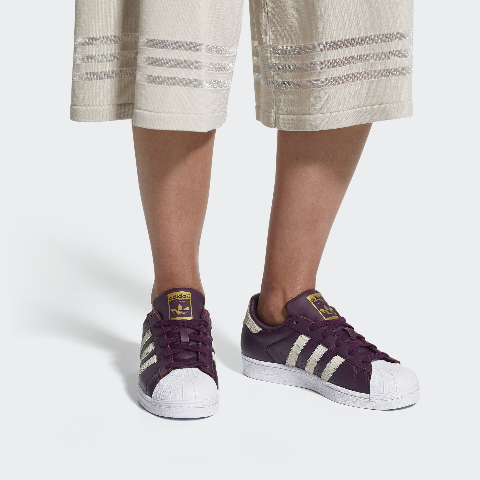 adidas Sapatos Superstar - Branco  d8a01e3a5cc95