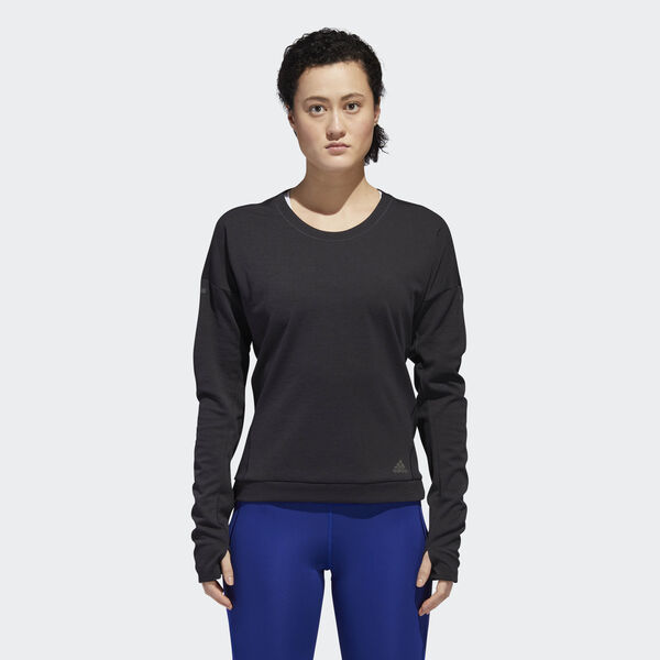 Sweatshirt Supernova Run Cru Preto DN2487