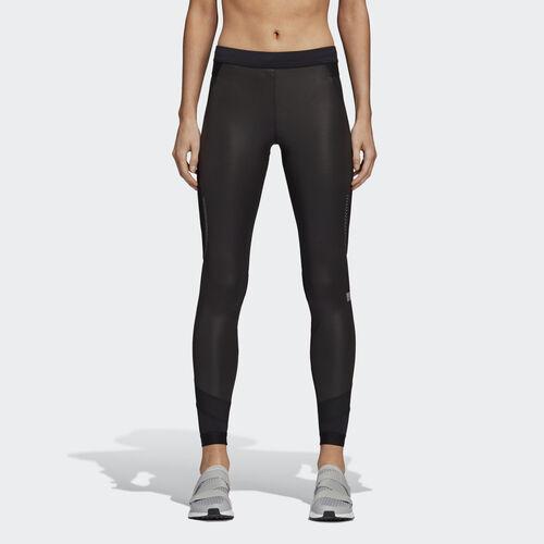 adidas - Run Long Shiny Tights Black CZ3728