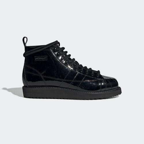 adidas - Superstar Boots Core Black / Core Black / Collegiate Purple CG6458