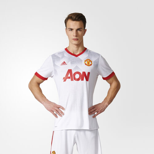 adidas - Manchester United Home Pre-Match Jersey White/Real Red BP9205