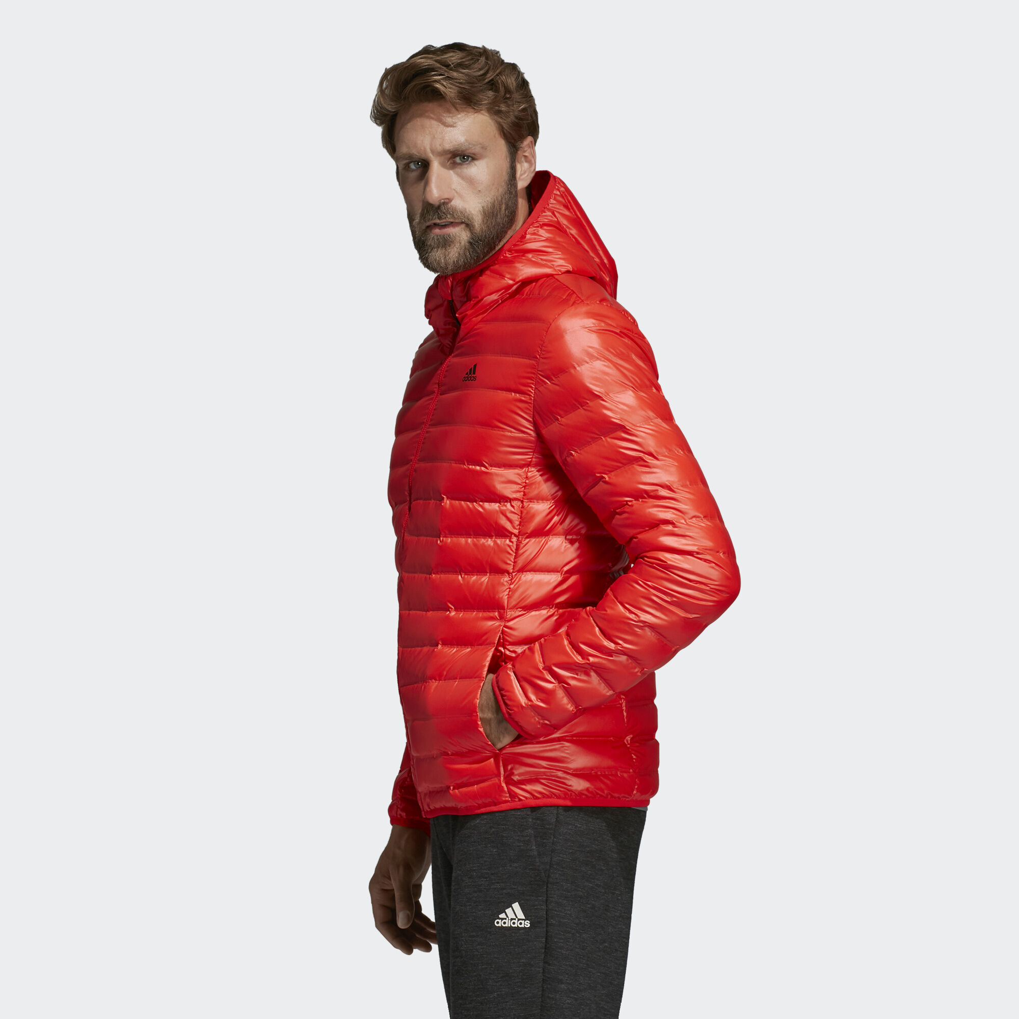 best sneakers 03f79 9566e Varilite Hooded Down Jacket