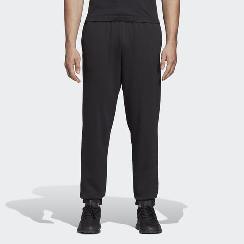 adidas - Essentials Linear Tapered Pants Black / White DQ3081