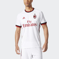 2b357a9a18 adidas - AC Milan Away Replica Jersey White Victory Red Black BR8946 ...