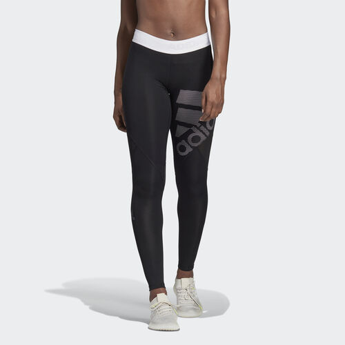 adidas - Alphaskin Sport Long Tights Black / White DH4437