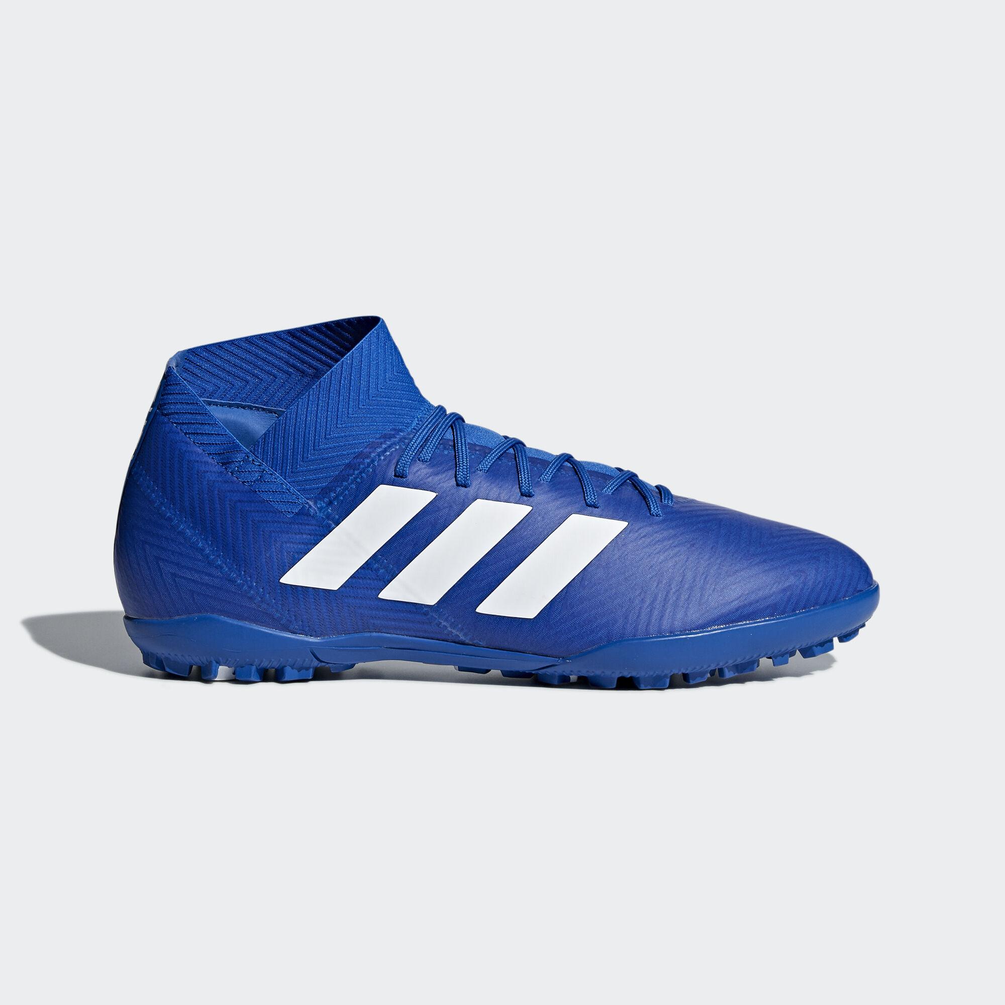 best sneakers 04f8a 7ea51 adidas - Nemeziz Tango 18.3 Turf Boots Football Blue   Ftwr White   Football  Blue DB2210