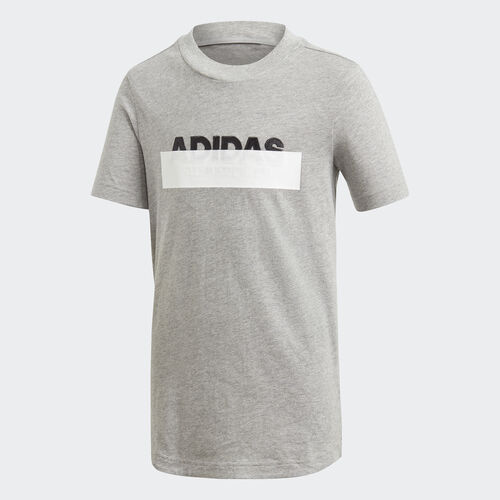 adidas - ID Lineage Tee Medium Grey Heather / Black DV1647