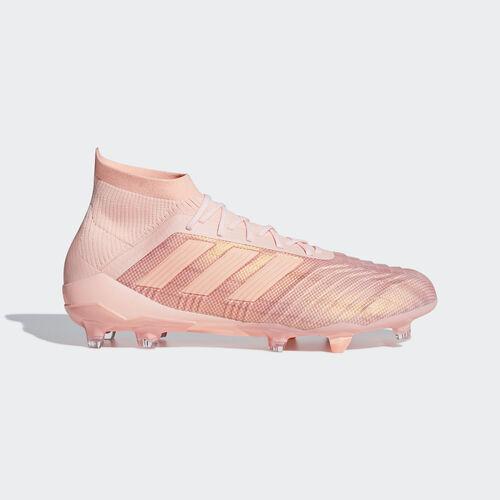 adidas - Predator 18.1 Firm Ground Boots Clear Orange / Clear Orange / Trace Pink DB2040