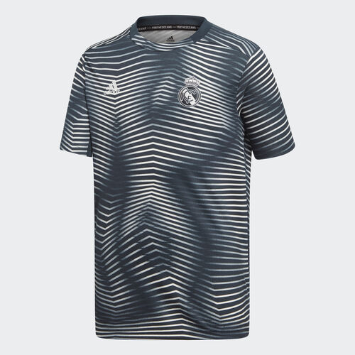 adidas - Real Madrid Pre-Match Jersey Tech Onix / Core White DP2917