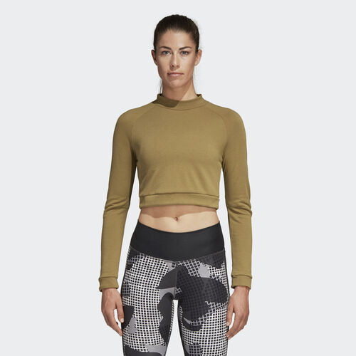 adidas - ID Cropped Tee Raw Desert DM1749