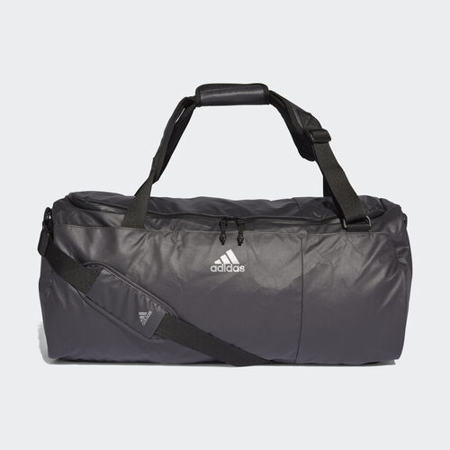 adidas - Training Convertible Top Team Bag Carbon / Carbon / Night Met. DM7780