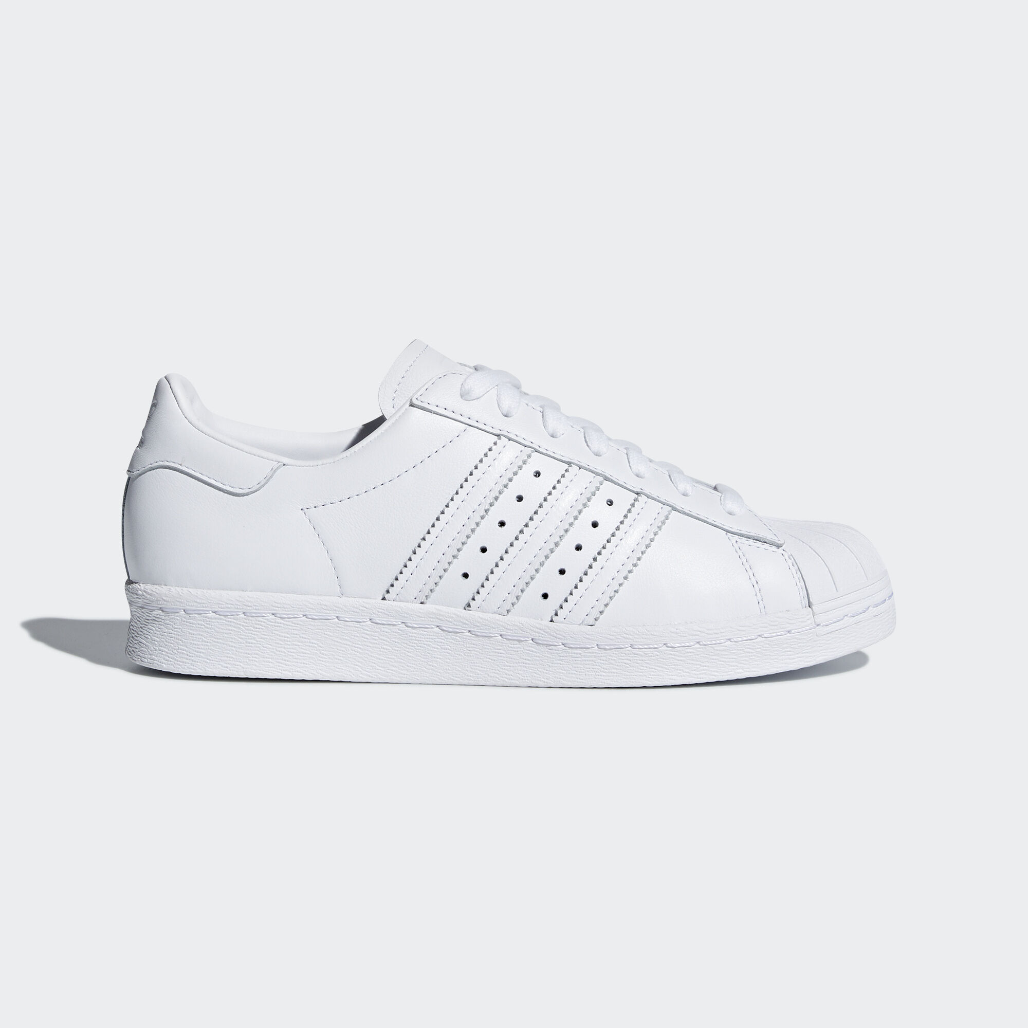 adidas - Superstar 80s Half Heart Shoes Ftwr White/Ftwr White/Scarlet CQ3009
