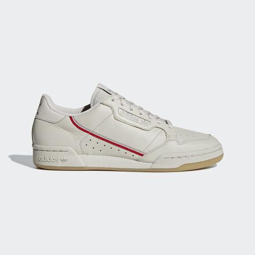 adidas - Continental 80 Shoes Clear Brown / Scarlet / Ecru Tint BD7606