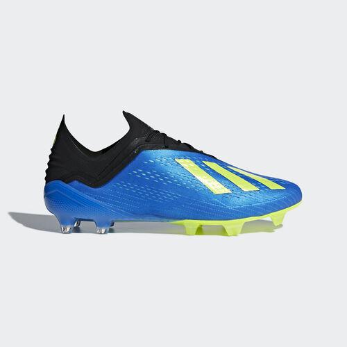 adidas - X 18.1 Firm Ground Boots Football Blue / Solar Yellow / Core Black CM8365
