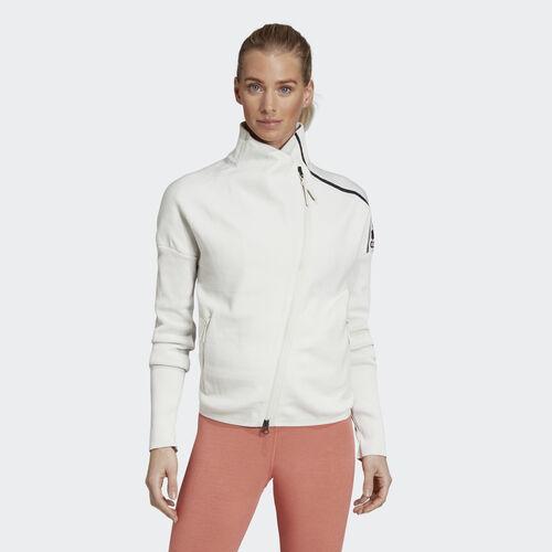 adidas - adidas Z.N.E. Heartracer Primeknit Jacket Raw White / White DP9202