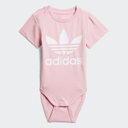 adidas - Trefoil Bodysuit Light Pink / White D96071