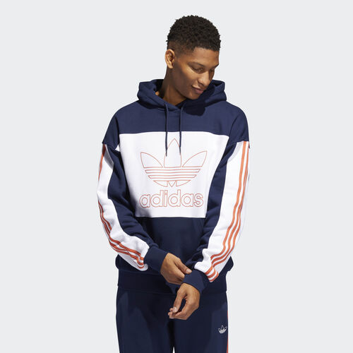 adidas - Outline Hoodie Collegiate Navy / White DY6650