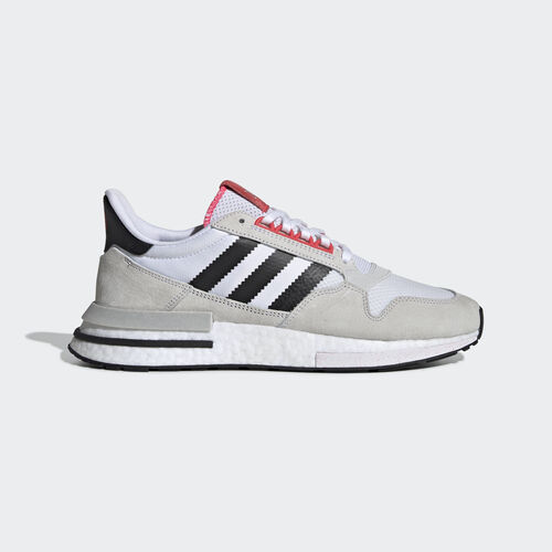 adidas - ZX 500 RM Shoes Ftwr White / Core Black / Shock Red G27577