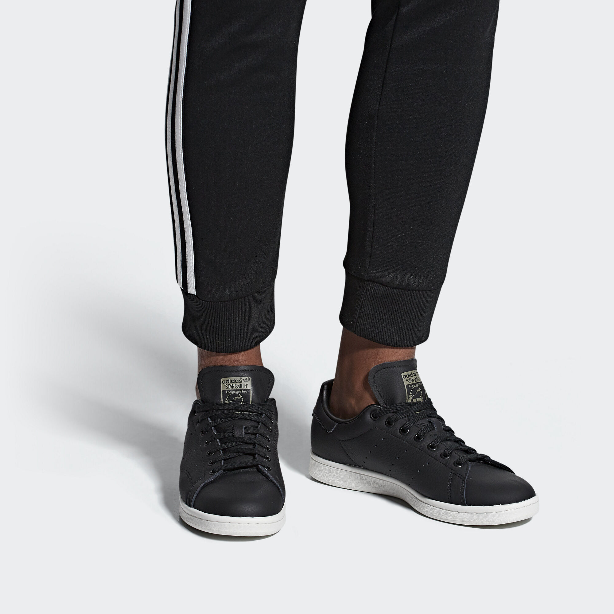 b383594825c535 adidas Stan Smith Shoes - Black