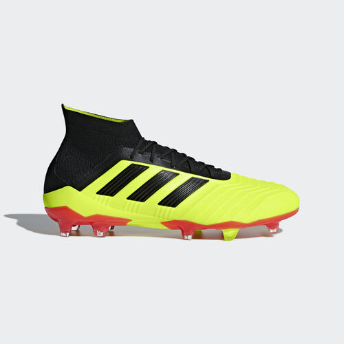 adidas - Predator 18.1 Firm Ground Boots Solar Yellow / Core Black / Solar Red DB2037