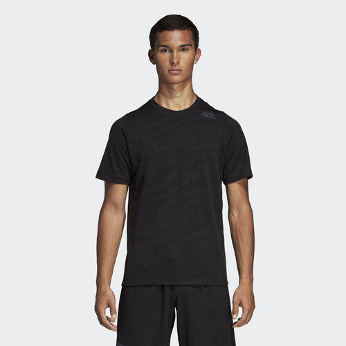 adidas - FreeLift 360 Jacquard Graphic Tee Black DS9274