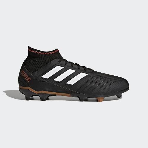 adidas - Predator 18.3 Firm Ground Boots Core Black/Ftwr White/Solar Red CP9301