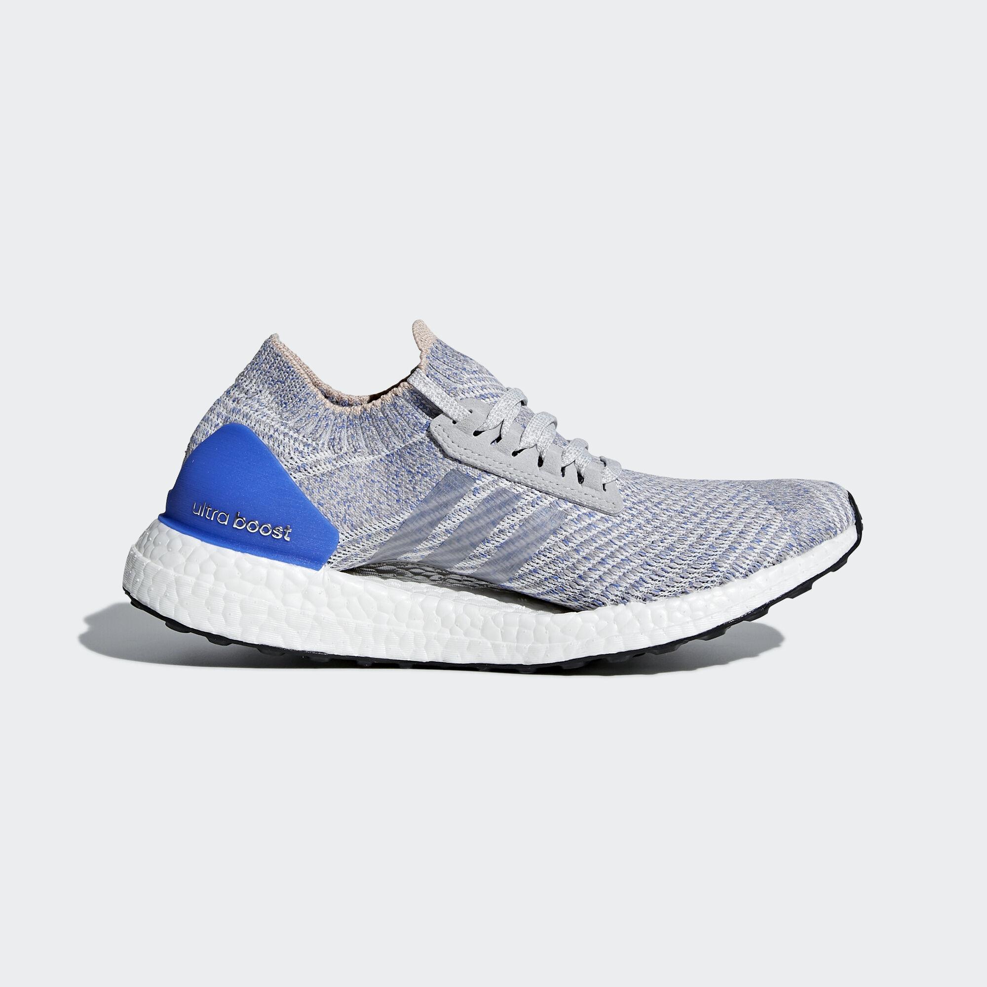 632c477aec7f adidas - Ultraboost X Shoes Grey Two Grey Two Hi-Res Blue BB6155. Women  Running