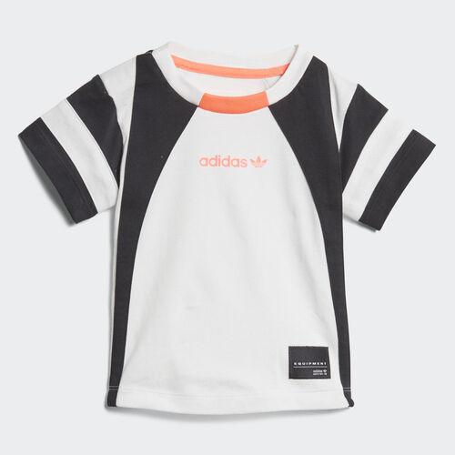 adidas - Camiseta EQT White / Black / Turbo D98795
