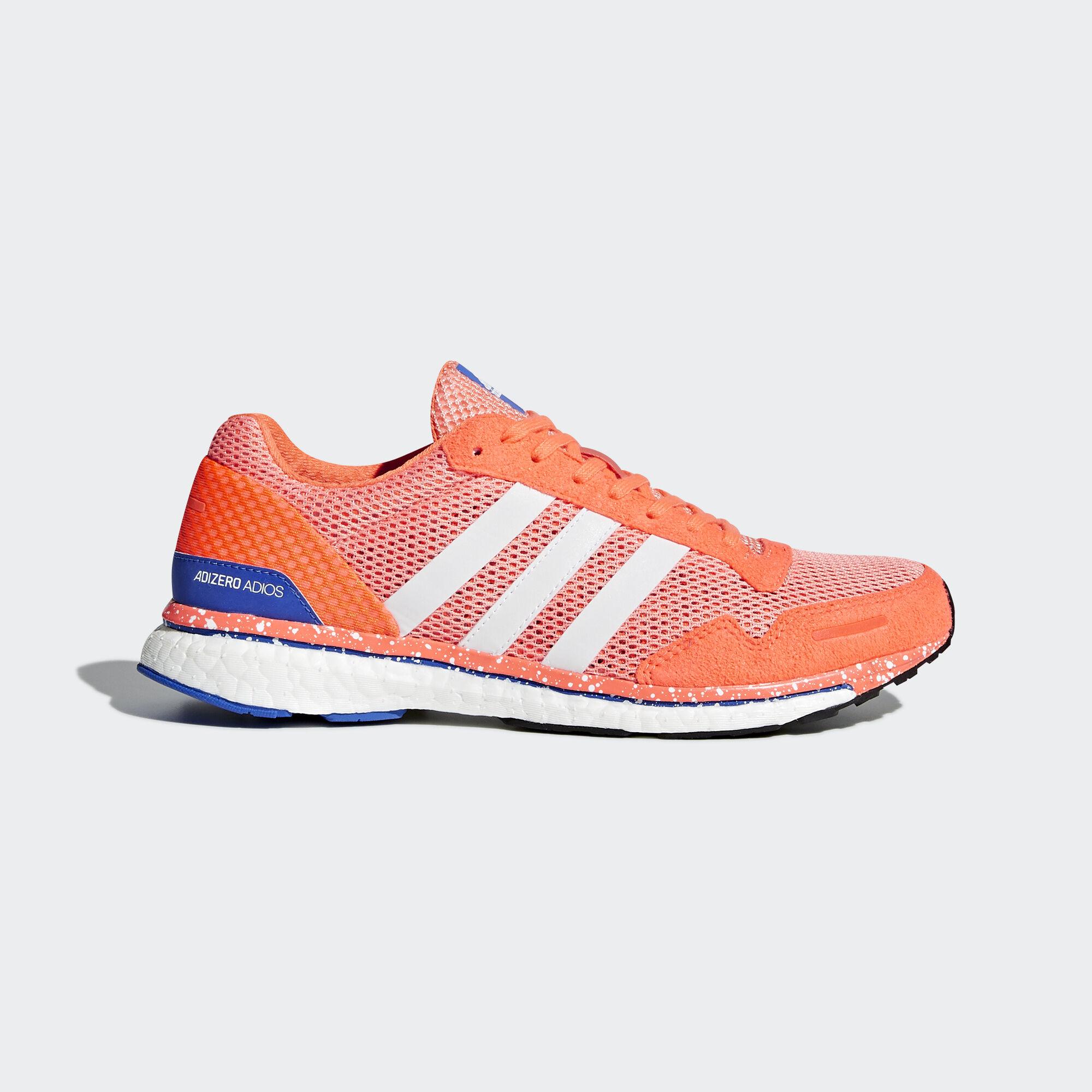 aaf41f3eb61e adidas - adizero Adios 3 Shoes Chalk Coral Ftwr White Orange BB6408. Women  Running