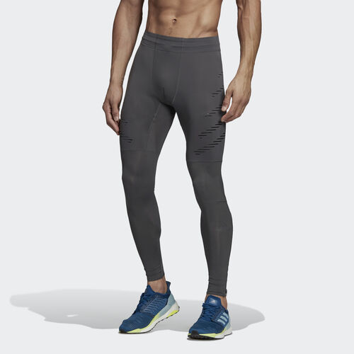 adidas - Speed Long Tights Grey Six / Black DP3947