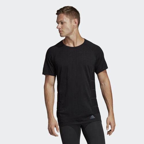 adidas - Primeknit Wool Tee Black CX2870