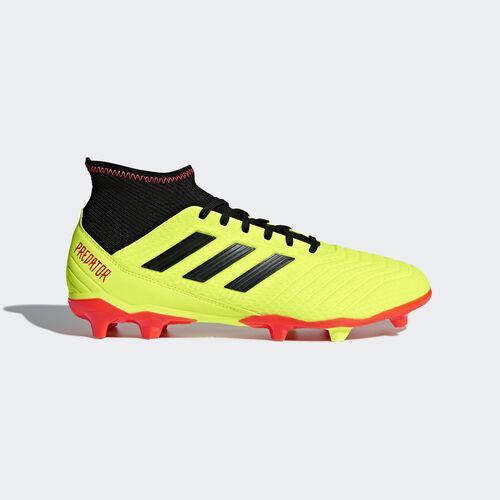 adidas - Predator 18.3 Firm Ground Boots Solar Yellow / Core Black / Solar Red DB2003