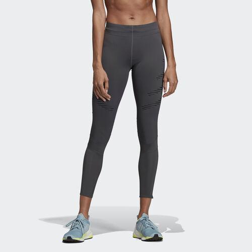 adidas - How We Do Speed Long Tights Grey Six / Black DP3958