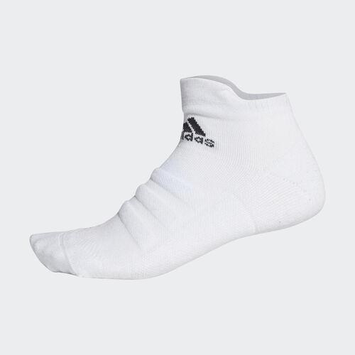 adidas - Alphaskin Lightweight Cushioning Ankle Socks White/Black CV7695