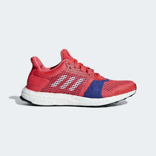 adidas - Ultraboost ST Shoes Shock Red / Ftwr White / Active Pink B75867
