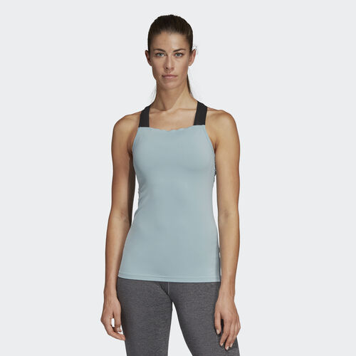 adidas - Climb to City Tank Top Ash Grey DS8852