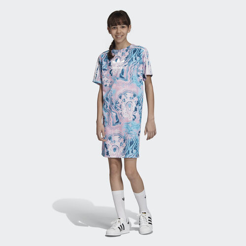 adidas - Marble Tee Dress Multicolor / White DV2354