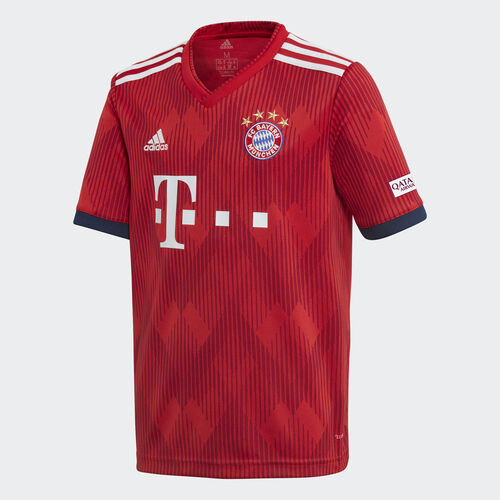 adidas - FC Bayern Home Replica Jersey Fcb True Red / Strong Red / White CF5429