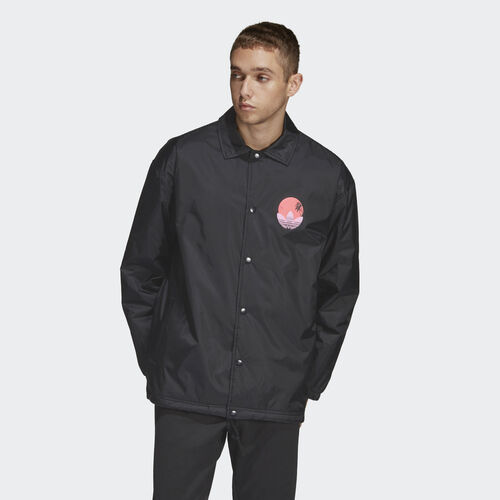 adidas - Tropical Coach Jacket Black DV2039