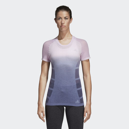 adidas - Ultra Primeknit Wool Tee Purple/Aero Pink/Raw Indigo CF2881