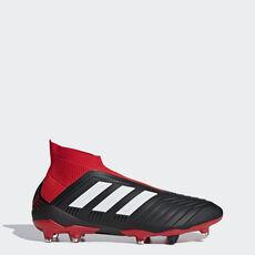 49a79c1d1f3b4 adidas - Botas de Futebol Predator 18+ - Piso Firme Core Black / Ftwr White  ...