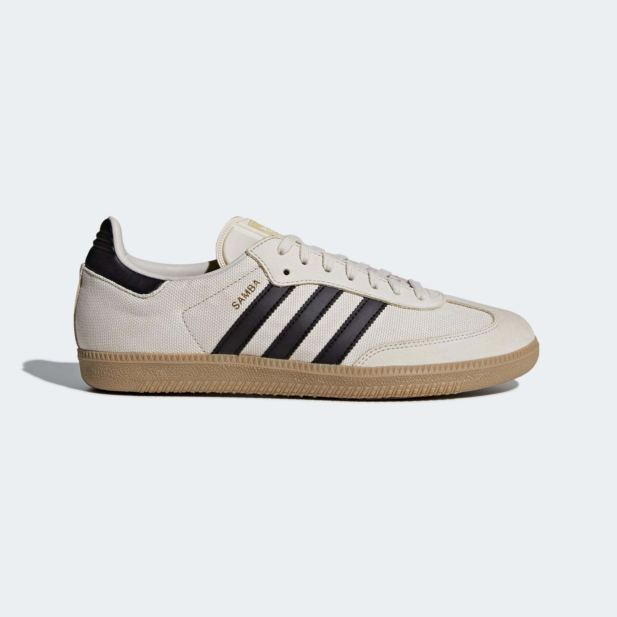 adidas - Samba OG Shoes Clear Brown/Core Black/Gum 4 CQ2151. Men Originals