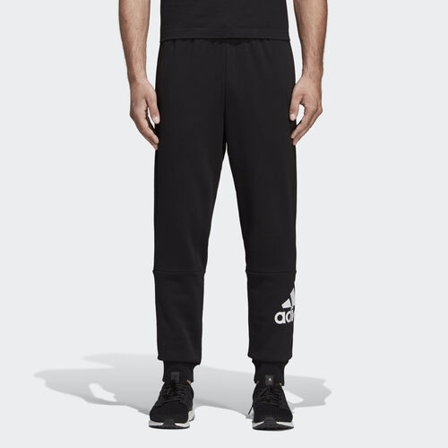 adidas - Must Haves French Terry Badge of Sport Pants Black / White DQ1445