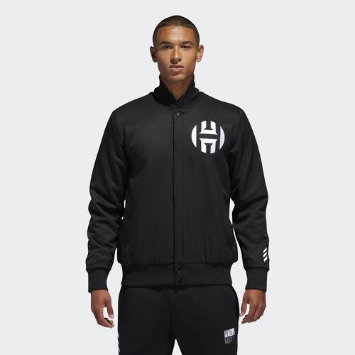adidas - Harden Varsity Jacket Black DM2864