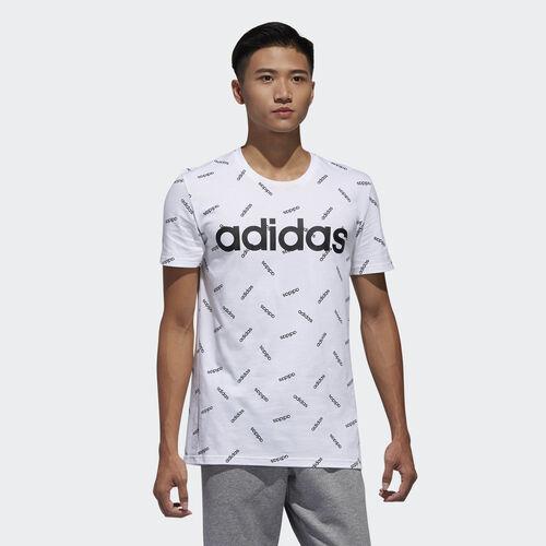 adidas - Graphic Tee White / Black DW7866